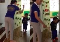 Tạm đình chỉ giáo viên dùng dép đánh trẻ mầm non