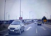 Tước bằng lái tài xế chạy ngược chiều trên cao tốc