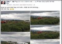 Lời khai của người tung tin 'máy bay rơi ở Nội Bài'