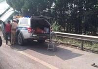 Chiến sĩ CSGT bị tông trên cao tốc đã tử vong