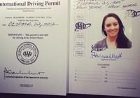 Từ tháng 8 sẽ cấp bằng lái quốc tế được lưu hành ở 73 quốc gia
