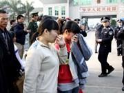 Giải cứu và cho hồi hương 6 phụ nữ Việt bị bán sang Trung Quốc