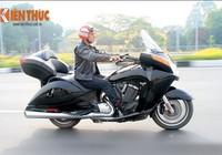 Tận thấy môtô siêu độc Victory Vision Tour 2014 ở Việt Nam