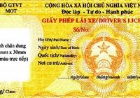 Tháng 9 sẽ áp dụng cấp bằng lái xe số tự động