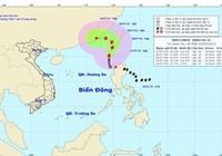 Tin mới nhất về cơn bão số 2 trên biển Đông