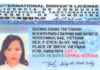 Thủ tục cấp đổi giấp phép lái xe quốc tế