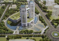 Nghệ An xây khu hành chính cao 27 tầng với hơn 2.000 tỉ đồng