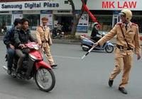 Cảnh sát giao thông phạt như vậy là đúng hay sai?
