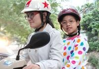7 điều lưu ý an toàn khi chở bé đi xe máy
