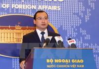 Việt Nam lên tiếng về việc tàu Mỹ tiến sát đảo Tri Tôn ở Hoàng Sa