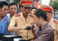 Mới: Tăng mức xử phạt về nồng độ cồn khi lái xe