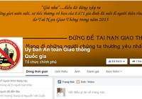 Ủy ban An toàn Giao thông lập Facebook nhận góp ý từ người dân
