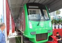 Tàu điện Trung Quốc tuyến Cát Linh - Hà Đông về tới VN