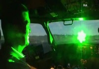 Máy bay bị chiếu tia laser ở Nội Bài