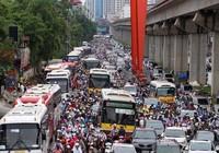 Ba tháng, xảy ra 10 vụ ùn tắc giao thông kéo dài