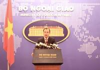 Bộ Ngoại giao: Trung Quốc thúc đẩy quân sự hóa ở biển Đông