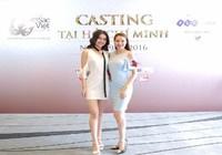 Hoa hậu Hà Kiều Anh 'cầm cân' cuộc thi nhan sắc