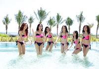 Người đẹp gốc Việt khoe đường cong tại 'Hoa hậu Bản sắc Việt'