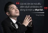 Phản pháo Tùng Dương về bolero, Đàm Vĩnh Hưng nói gì?