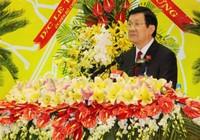 Chủ tịch nước dự Đại hội Đảng bộ tỉnh Bình Dương