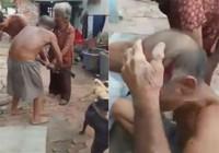 Gã nghiện rượu đánh cha ruột 84 tuổi chấn thương