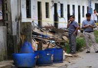 Kinh hãi: Một phần thi thể nạn nhân trong thùng rác