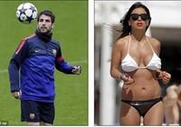 Fabregas đưa người tình đi chơi sau trận thua sốc tại Euro