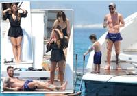 Messi cùng gia đình thư giãn trên siêu du thuyền sau scandal trốn thuế
