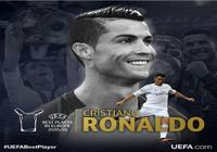 Ronaldo được vinh danh là 'Cầu thủ xuất sắc nhất châu Âu'