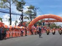 Tay đua Nguyễn Hoàng Sang lần đầu bước lên bục chiến thắng