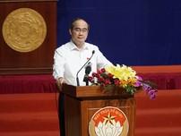 Clip:Bí thư Nguyễn Thiện Nhân cam kết xử lý sai phạm Thủ Thiêm