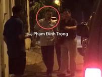 Cảnh sát khám xét nhà ông Phạm Đình Trọng
