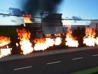Vụ xe bồn chở xăng cháy làm 6 người chết diễn ra thế nào?