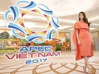 Phạm Hương rạng rỡ quảng bá du lịch Đà Nẵng dịp APEC