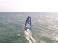 Hình ảnh đẹp ở giải lướt ván buồm quốc tế Fun Cup