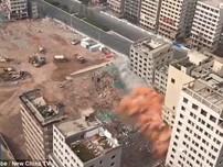 36 tòa nhà bị phá hủy trong vòng... 20 giây