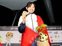 Ánh Viên liên tiếp giành HCV, phá luôn kỷ lục SEA Games