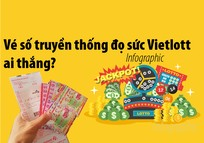 Vé số truyền thống đọ sức Vietlott, ai thắng?