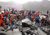 Hiện trường vụ lở đất kinh hoàng ở Trung Quốc
