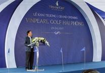 Hải Phòng: Khánh thành sân golf trên đảo lớn nhất