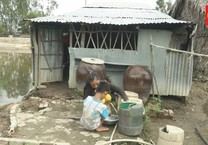 Chuyện đời bất hạnh của gia đình nghèo ở Kiên Giang