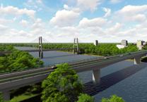 Đầu năm 2018, xây cầu Vàm Sát 2