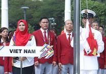 Lễ thượng cờ SEA Games 29 vắng trưởng đoàn Việt Nam