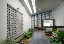 Nhà 1 tầng thiết kế nổi bật giữa Kon Tum