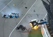 May mắn thoát chết sau tai nạn kinh dị trên đường đua