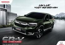 Chính thức ra mắt Honda CR-V 7 chỗ hoàn toàn mới