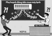 Thanh tra phát hiện HS 'cõng' 30 khoản thu tự nguyện