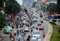 Đề xuất cấm xe taxi và xe hợp đồng tại các tuyến phố