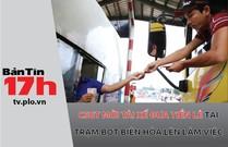 CSGT mời tài xế đưa tiền lẻ tại trạm BOT lên làm việc