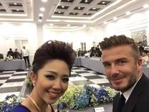 """Beckham đánh lẻ chụp hình """"tự sướng"""" với Tóc Tiên"""